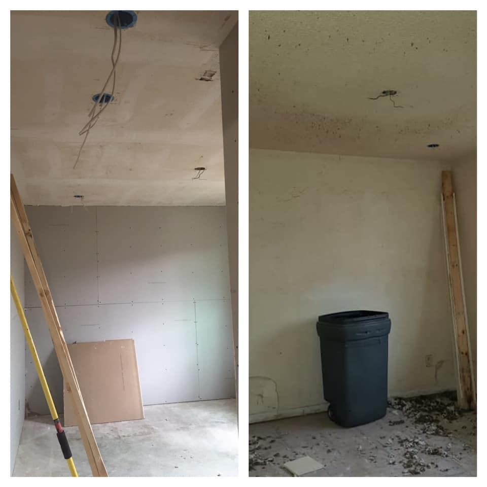 How to remove cigarette smoke from a popcorn ceiling